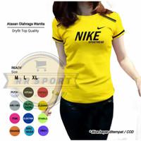 Baju senam baju olahraga wanita zumba aerobic fitnes atasan senam nk02