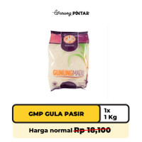 GMP Gula Pasir 1kg (1 Bungkus)