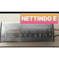 BALLAST TRAVO ADAPTOR TRAFO LED DRIVER LAMPU SOROT PJU 50 W 50 WATT