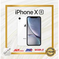 Apple iPhone XR 64 GB New Fullset Garansi Toko 1 Tahun - Putih