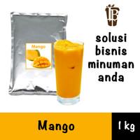 Bahan Minuman Bubuk Mangga. Mango Bubble Tea Drink Powder
