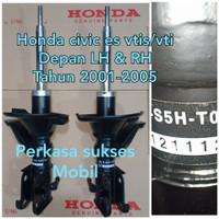 shock breaker absorber honda depan civic vtis es-vti 2001-2003-2005