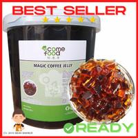 Magic Coffee Jelly / Jeli kopi Topping Minuman Taiwan 3,3kg