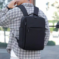 Parkson Tas Ransel Import Backpack Korea Style Tas Laptop - Hitam