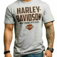 kaos T-shirt HARLEY DAVIDSON MOTORCYCLES Baju kaos oblong keren pria