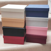 Square hardbox for bloombox / gift box Kotak bunga atau kado