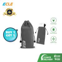 BUY 1 GET 1 ECLE Pouch Bag Mini Sarung Penyimpanan Aksesoris Gadget