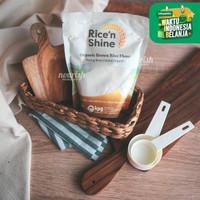 Rice n Shine Organic Brown Rice Flour (Tepung Beras Cokelat Organik)