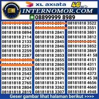 nomor cantik xl murah