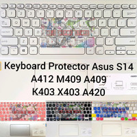 Keyboard Protector Asus Vivobook S14 A412 TM412 A409 A420 TM420 K403