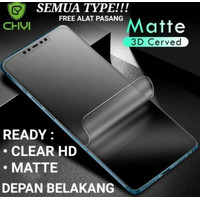 Samsung A9 2018 Hydrogel Matte Anti Gores Non Tempered Glass