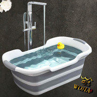 Bak Mandi Bayi Anak Lipat / Foldable Portable Baby Bathtub Bath Tub