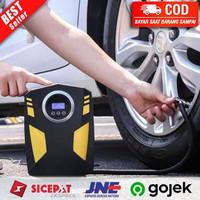 Pompa Ban Mobil Truk Motor Elektrik Cek Tekanan Angin Digital