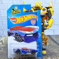Hot Wheels Diecast HW City Street Shaker Soccer Edition Biru
