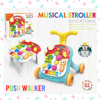 Push Walker 4 in 1 / Baby Walker / Dorongan bayi / Alat bantu jalan