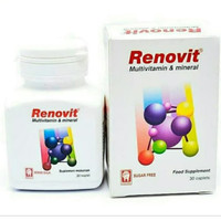 Renovit Multivitamin dan Mineral 30 tablet