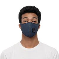 ZULU Sports Mask N95 (Herringbone Blue)