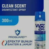 WINGS WIZ24 Disinfectant Spray Aerosol - Biru