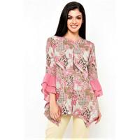 Blouse Batik Pink Batik Galis Lawasan Klasik