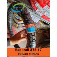 Ban Trail 275-17 atau 80/90-17 bukan tubles untuk motor bebek