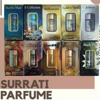 Parfum Surrati 6ml Roll on All Varian   Alcohol Free   Parfum Arab