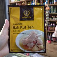 Song Fa Bak Kut Teh Spices/ Songfa Bakut Teh 30gr