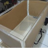 akrilik aquarium besar 10mm uk p100cmxL15cmxT15cm + box filter air