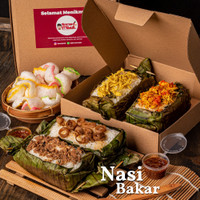 Nasi Bakar (KHUSUS MIX) - Personal Size