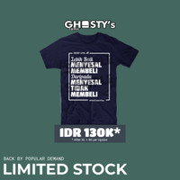GHOSTY's COMIC T-Shirt - Menyesal Membeli