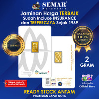 Semar Nusantara Logam Mulia Antam Press 2gr