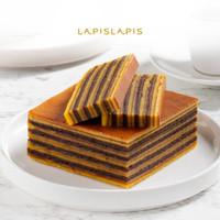 Lapis Legit Chocolate Ukuran Quarter (10x10cm)