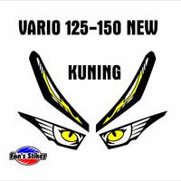 Cutting stiker lampu honda vario 125 150 new bahan oracal terjamin