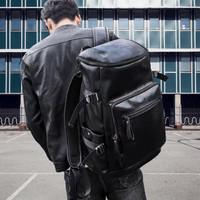 Tas Ransel Kantor Kerja Kulit Pria   Bussiness Travel Backpack