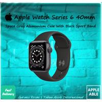Apple Watch Series 6 GPS 40mm Gray Alumunium Case With Black Sportband