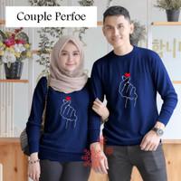 PERFOE COUPLE PERFOE 4 WARNA BEST SELLER /BAJU PASANGAN/BAJU KOREA/