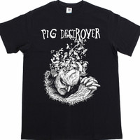 kaos band t-shirt PIG DESTROYER