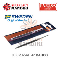 Kikir Asah 4 Bacho (Asah Gergaji) / 4in Slim Taper Saw File
