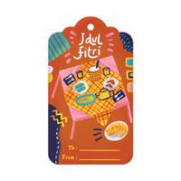 Capricorn Design Gift Tag / Hang Tag Lebaran - HTF022