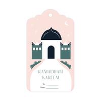 Capricorn Design Gift Tag / Hang Tag Lebaran - HTF029