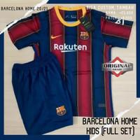 Jersey Futsal Baju Bola Grade Ori Original Barcelona Kids Nike