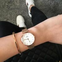 Jam tangan Dw Melrose Free Brecelet Gifset Original - 36mm