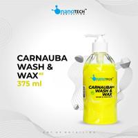 CARNAUBA WASH & WAX - NANOTECH PROTECTION - WASH AND WAX SHAMPOO MOBIL