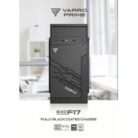 Casing Komputer Varro Prime Micro atx EXO F17 with PSU 500w - Pc case