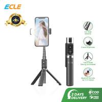ECLE Selfie Stick / Tongsis / Tripod Handphone Bluetooth Fill Light