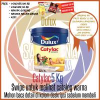 Cat Dulux Catylac 5 Kg Putih / 1501 / Warna / Cat Interior Galon - Putih Base