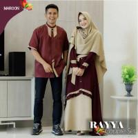 Baju Dress Muslim Couple Elegan Pakaian Gamis copel pasangan Terbaru