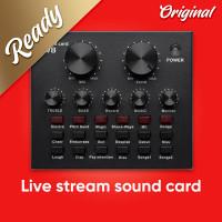 Sound Card V8 Mixer Audio SoundCard Untuk Live Windows Mac