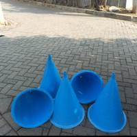 Corong penetasan telur ikan Armenia diamater 50 cm