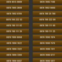 Nomor Cantik XL 4G 0878 9888 Nomer Kartu Perdana Murah