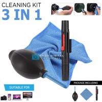 CLEANING SET 3in1 ( Lenspen , Dust Blower, Fiber )